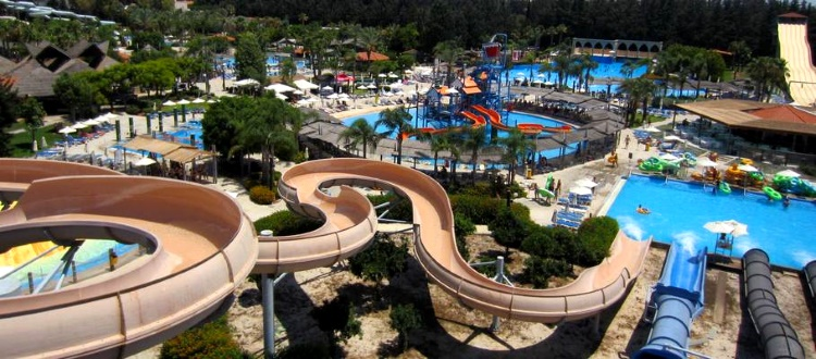 WaterWorld Themed Waterpark Ayia Napa