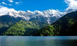 Сероводородные источники в Абхазии