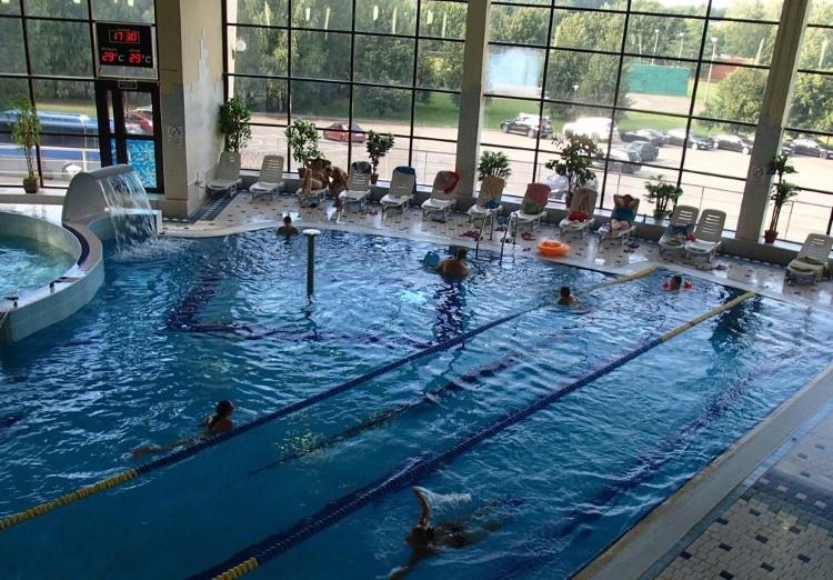 В аквапарке в Горках-10 «Поляны»