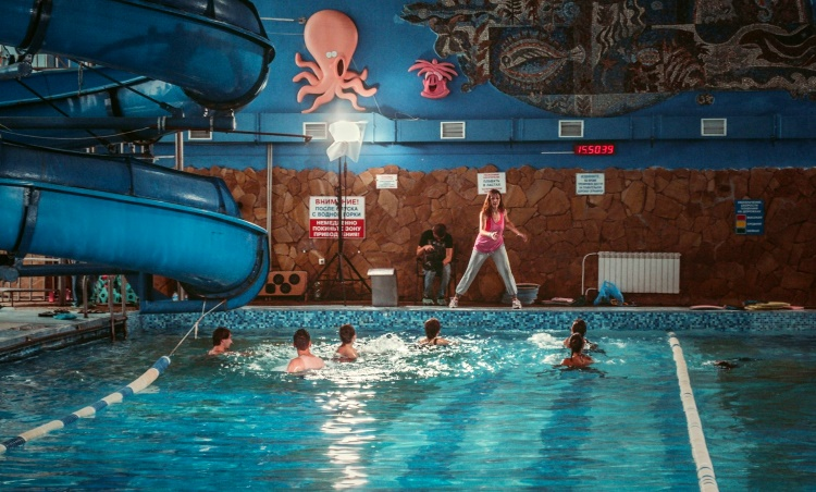 в Харькове аквапарк «Волна»