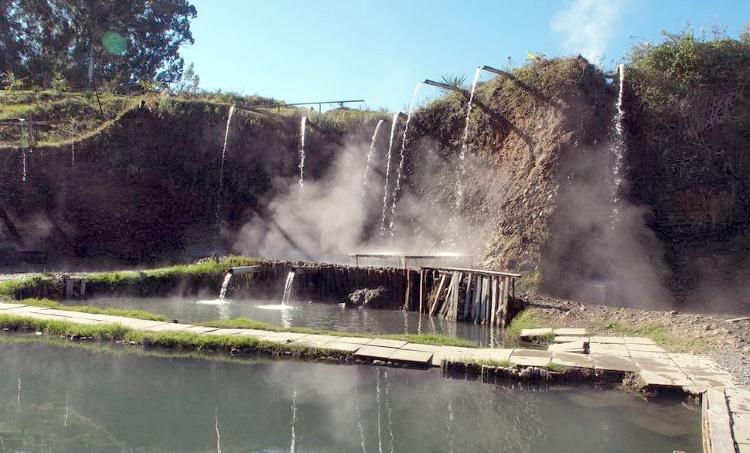 термальный источник Кындыг.