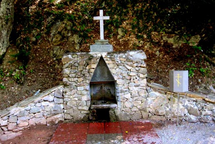 источник в Космо-Дамиановском монастыре