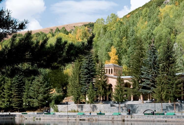 Термальные источники Армении Джермук