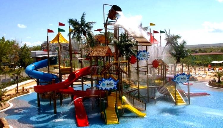 Аквапарк Болгарии «Action» Солнечный берег