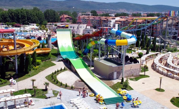 аквапарк Болгарии «Экшен» Солнечный берег