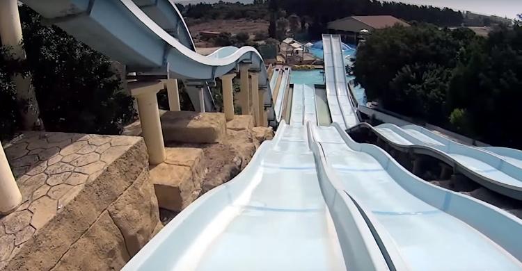 аквапарк на Кипре «Афродита»