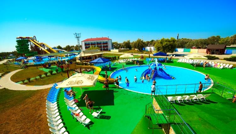 «Амазонки» аквапарк в Голубицкой
