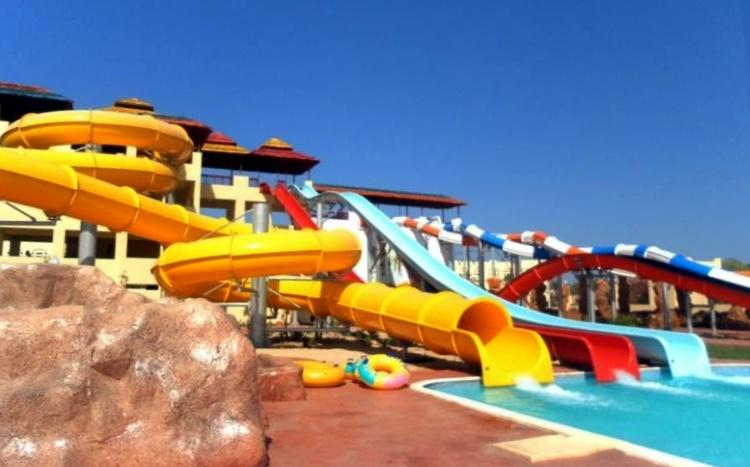 отель 5 звезд с аквапарком в Египте, Хургада, Макади