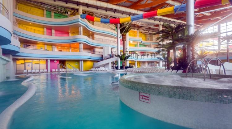 """""""Мореон"""" самый лучший аквапарк в Москве в Ясенево"""