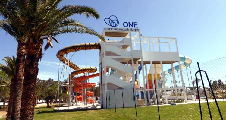 аквапарк в Тунисе «Ван Резорт»
