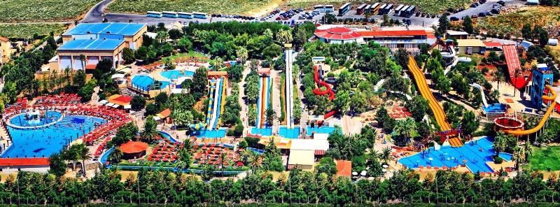 Аквапарк «Water City» на Крите