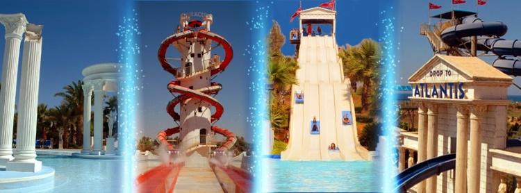 Аквапарк «WaterWorld» в Айя Напе