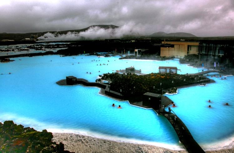 оздоровительный комплекс «Голубая Лагуна» Исландия