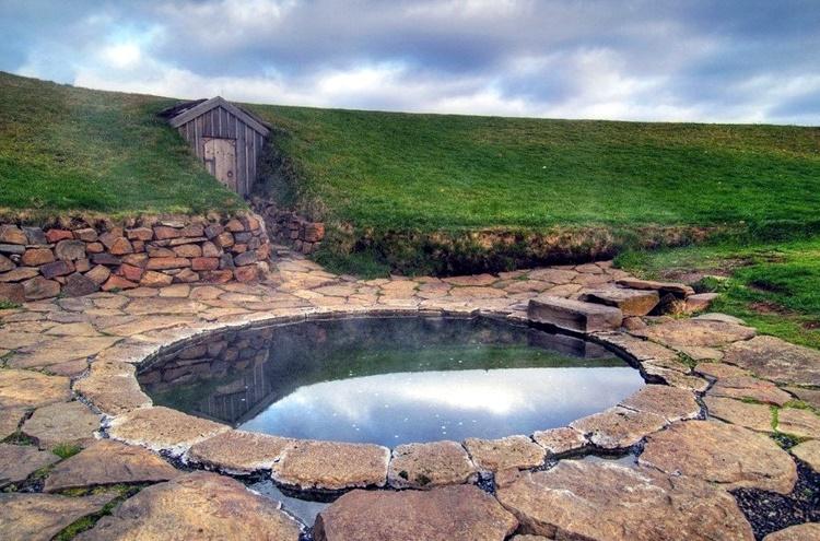 термальный источник Исландии Снорралейг