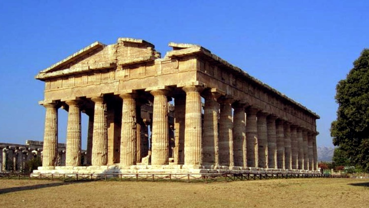 Греция, Лутраки, храм богини Геры