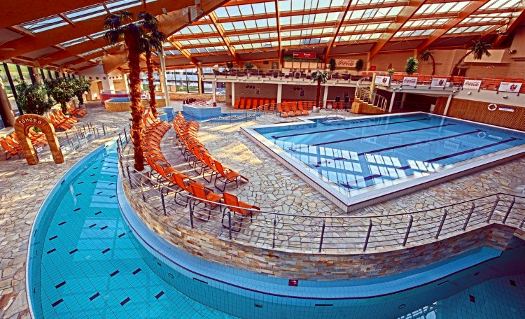 """""""Aquapalace Praha"""" аквапарка в Праге, Чехия,"""