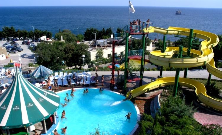 аквапарк Симеиза «Голубой залив»