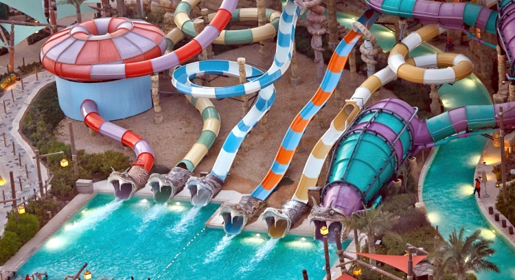 """Yas Waterworld"" - аквапарк в Абу-Даби"