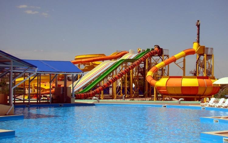 аквапарк в Железном порту