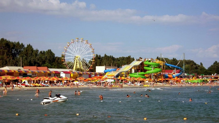 Аквапарк Железный порт, Украина