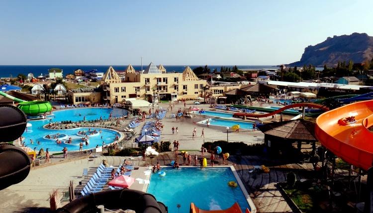 Аквапарк в Крыму Коктебель