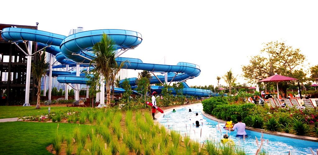 В аквапарке Dreamland