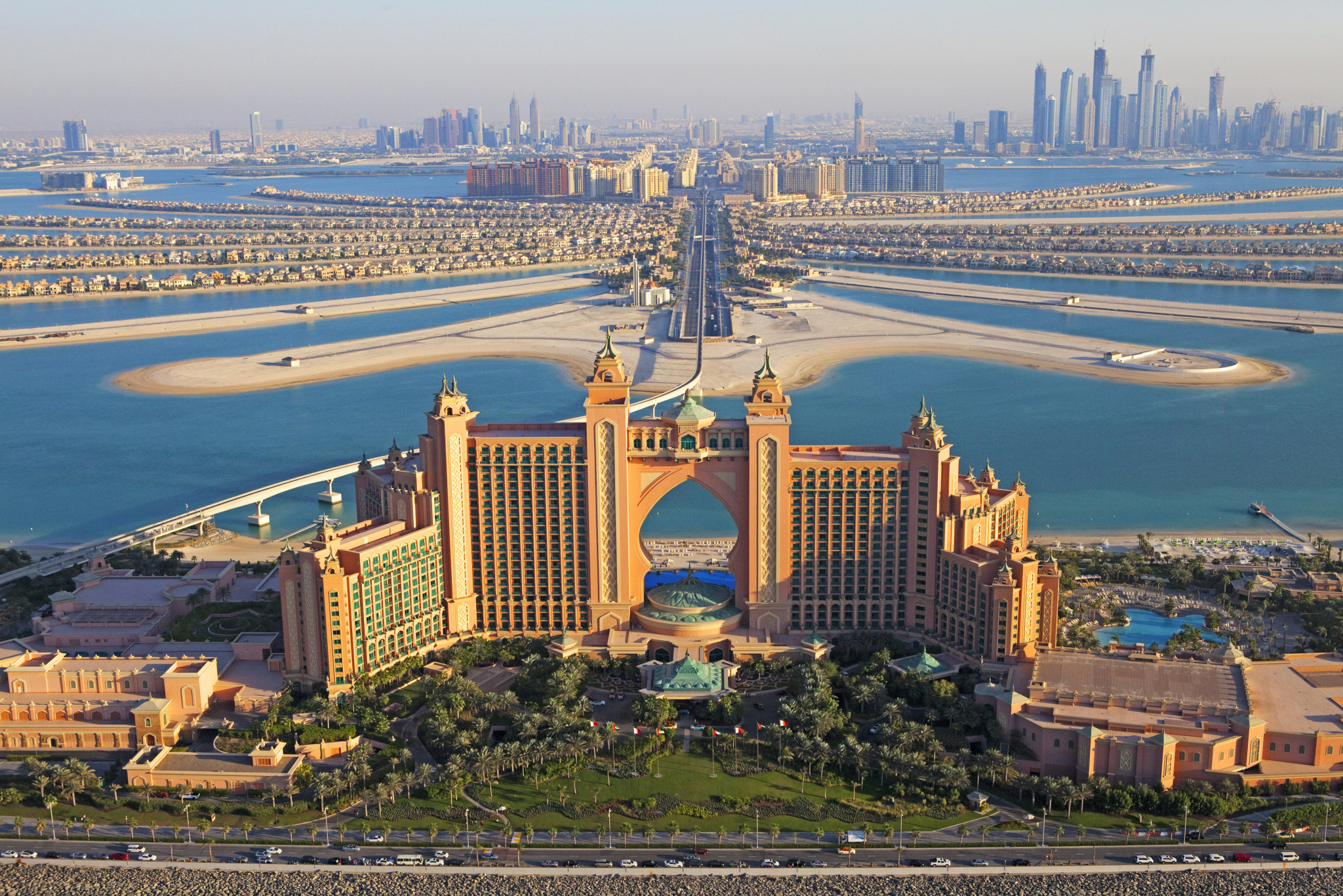 Аквапарк в Дубае «Aquaventure» отеля Atlantis the Palm