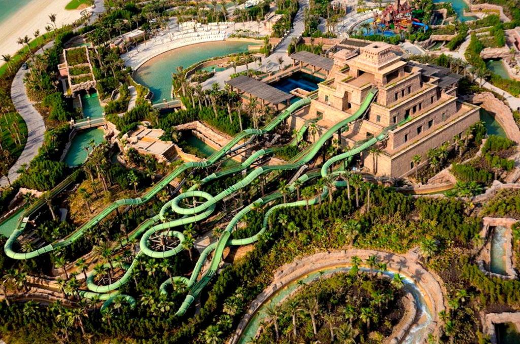 Аквапарк Атлантис в Дубае