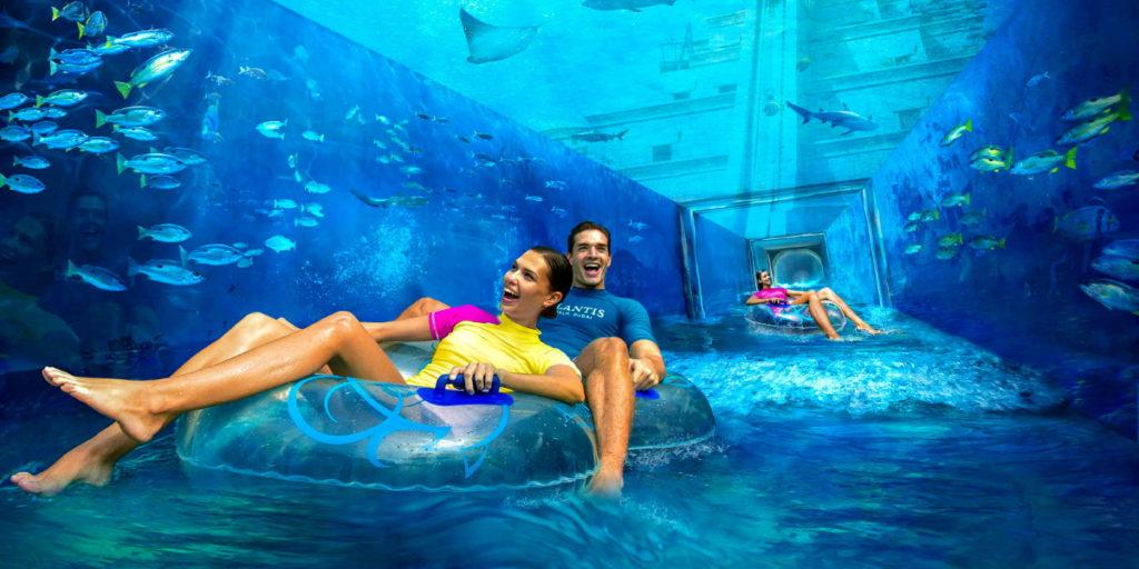Аквапарк в Дубае Атлантис