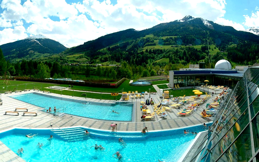 Австрия термальный источник